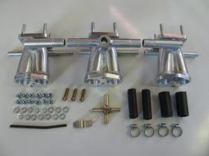 Manifold kit, TR6, Triple
