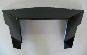 Radiator Shroud, TR6, Black