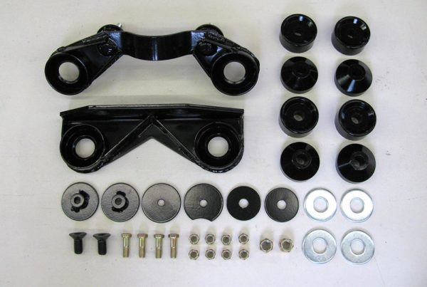 Diff install kit without axle adapters