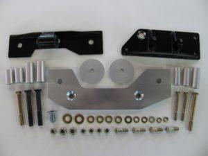 Diff Install Kit, R200B, w-o adapters